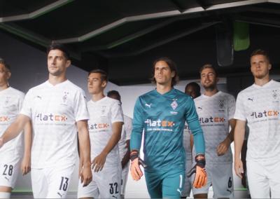 Flatex – Sponsoring Borussia Mönchengladbach (Stadium)